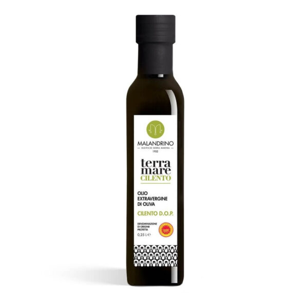 Olio extravergine di oliva Cilento D.O.P.