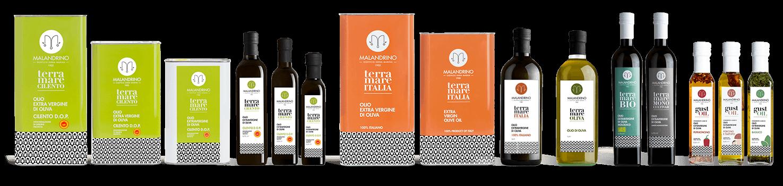 olio extravergine d'oliva dop cilento malandrino